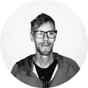 Black and white headshot of developer Tor-Anders